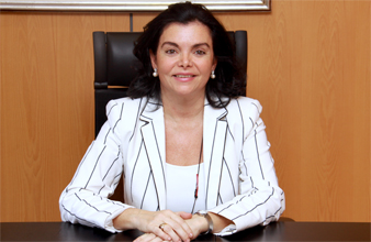 La presidenta de la Federación INternacional de Farmacología, Carmen Peña. Bajado del portal Bueno para la salud.